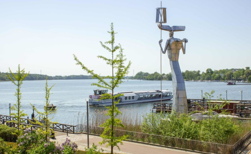 Blick auf den See aus der Juniorsuite im Resort Mark Brandenburg