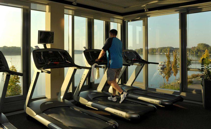 Erstklassiges Fitnesstudio des Resorts Mark Brandenburg
