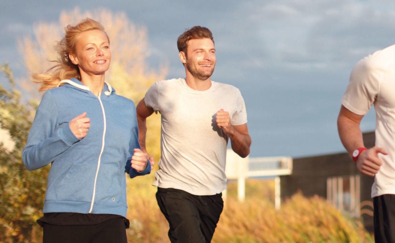 Jogger beim Laufen im Resort Mark Brandenburg
