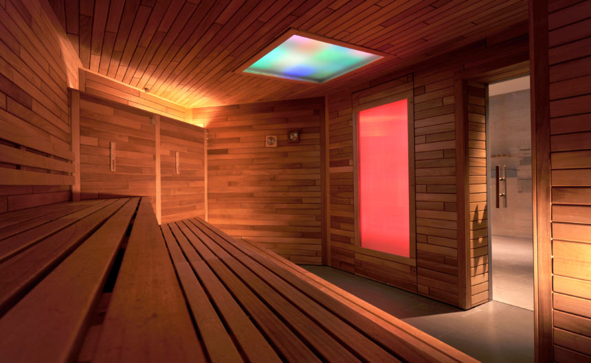 Biosauna der Therme Neuruppin im Resort Mark Brandenburg