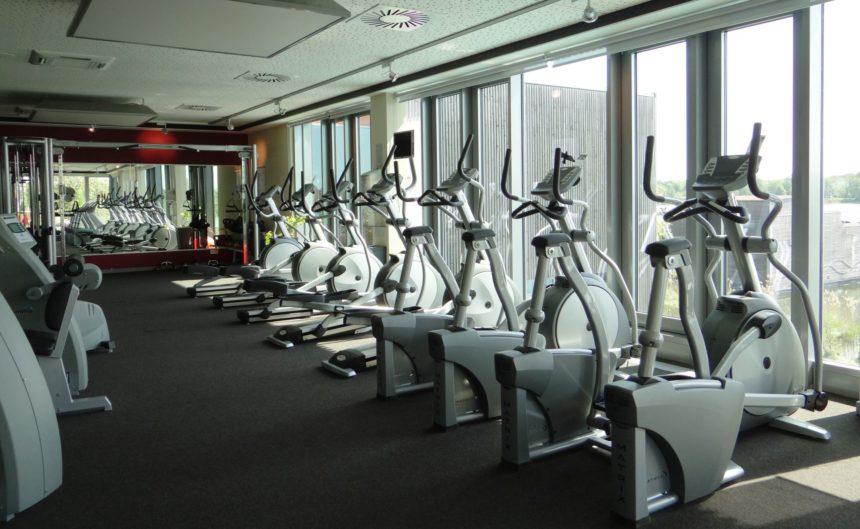Cardiobereich des Fitnessstudios im Resort Mark Brandenburg