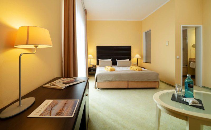 Komfort Zimmer mit Altstadtblick im Resort Mark Brandenburg