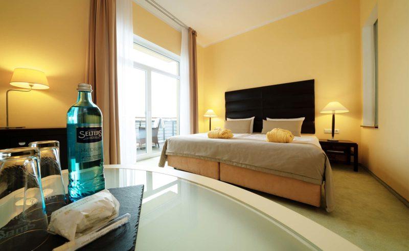 Aufnahme des Komfortzimmers im Resort Mark Brandenburg