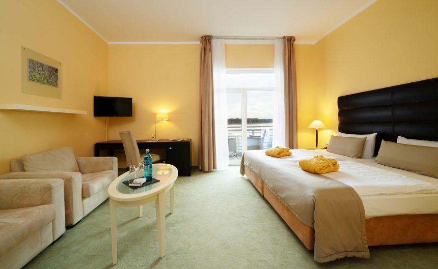Komfort Doppelzimmer des Hotels in Neuruppin