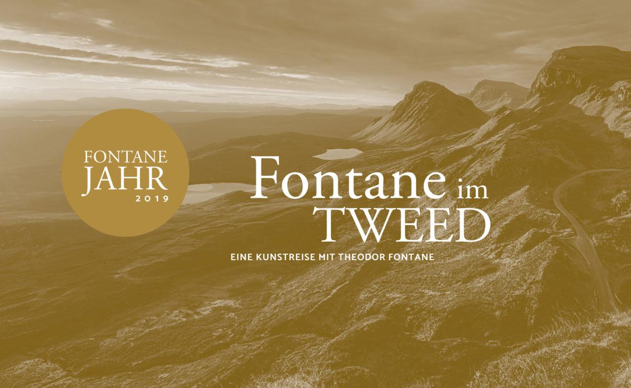 Plakat für Fontane im Tweed