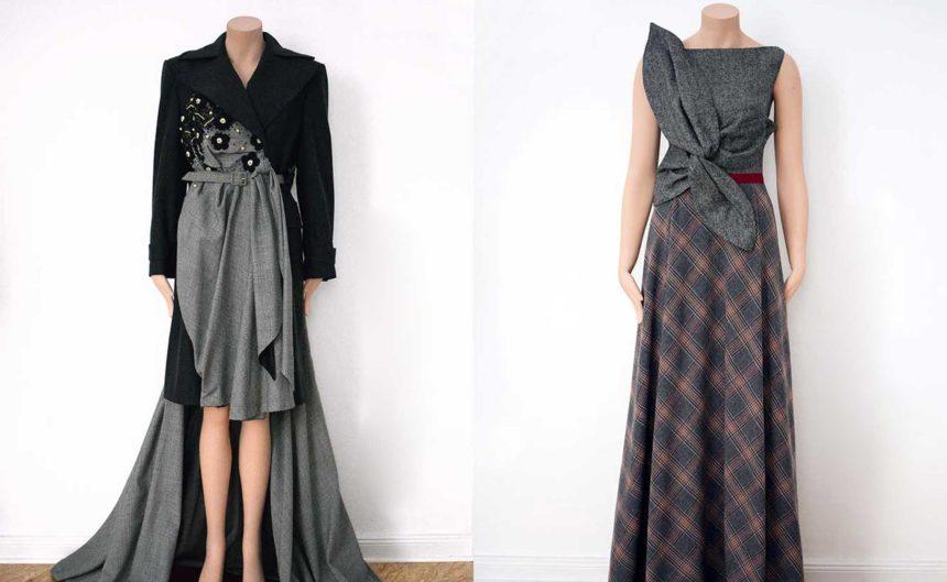 Couture des berliner Modedesigner Stefan Reinberger